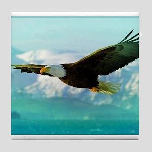 soaring eagle Tile Coaster
