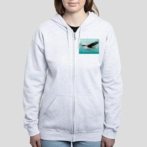 soaring eagle Women's Zip Hoodie