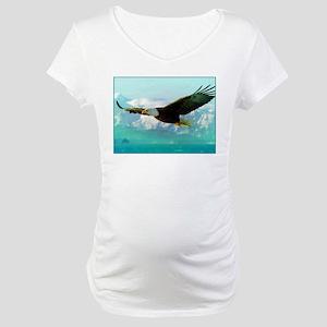 soaring eagle Maternity T-Shirt