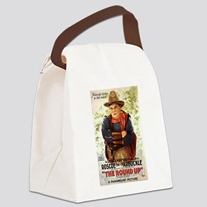 the round up Canvas Lunch Bag