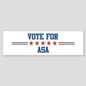 Vote for ASA Bumper Sticker