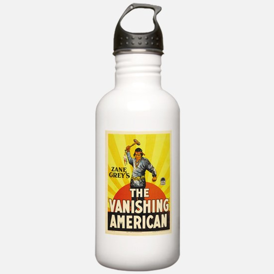 the vanishing american Sports Water Bottle