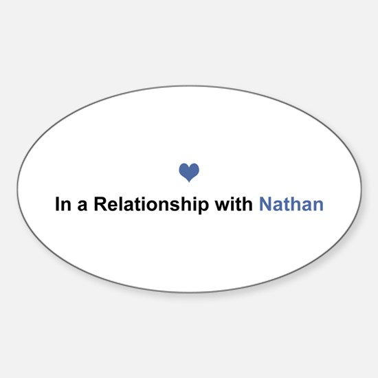 Nathan Relationship Oval Decal