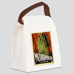 metropolis Canvas Lunch Bag