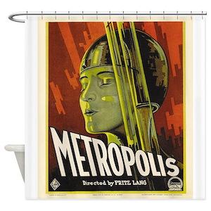 Vintage Movie Shower Curtains