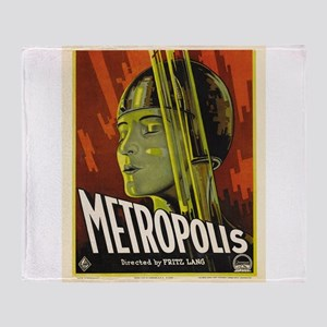 metropolis Throw Blanket
