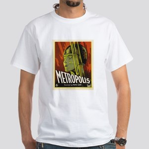 metropolis White T-Shirt