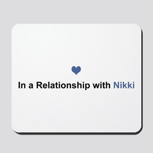 Nikki Relationship Mousepad