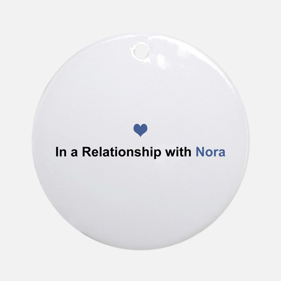 Nora Relationship Round Ornament
