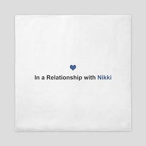Nikki Relationship Queen Duvet