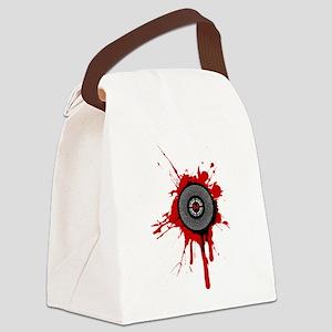 Graffiti DJ Canvas Lunch Bag