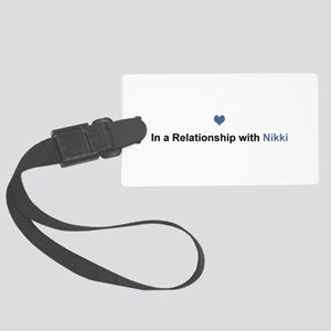 Nikki Relationship Large Luggage Tag