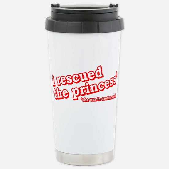 I Rescued The Princess Video Game Shirts Stainless