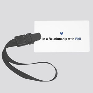 Phil Relationship Large Luggage Tag
