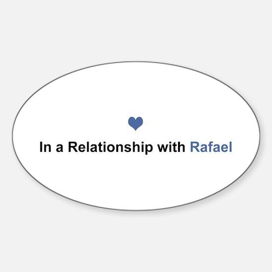 Rafael Relationship Oval Decal