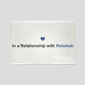 Rebekah Relationship Rectangle Magnet