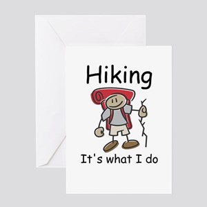 Hiking its what I do T-shirts and gifts. Greeting