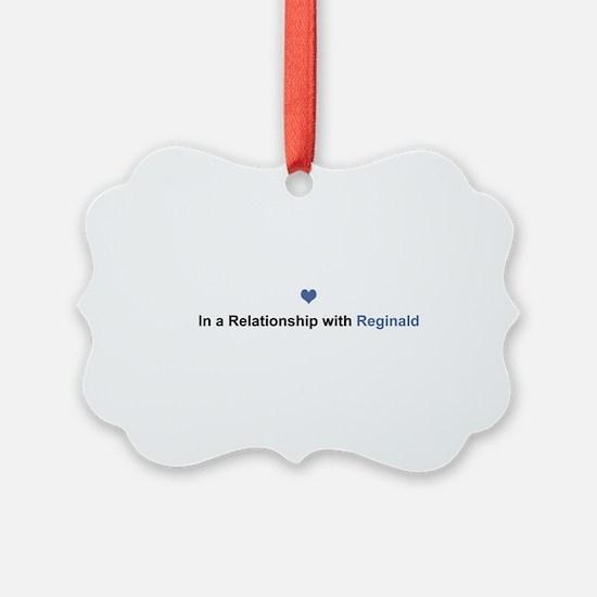 Reginald Relationship Ornament