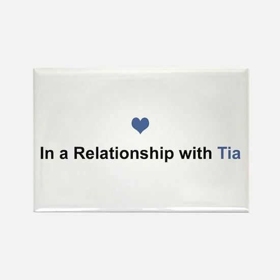 Tia Relationship Rectangle Magnet