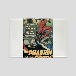 the phantom of the opera Rectangle Magnet