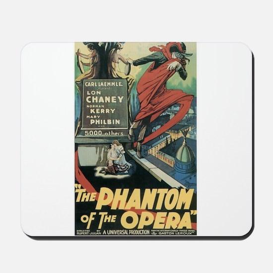 the phantom of the opera Mousepad