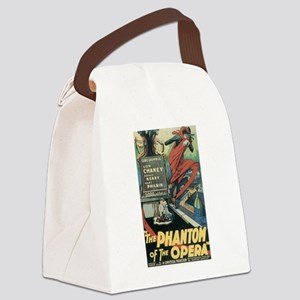 the phantom of the opera Canvas Lunch Bag