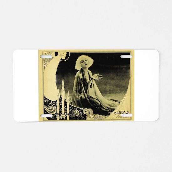 nazinova Aluminum License Plate