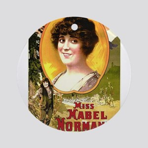 mabel normand Ornament (Round)