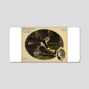mary pickford Aluminum License Plate