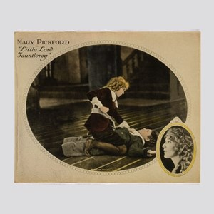 mary pickford Throw Blanket