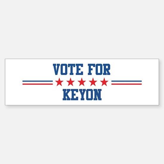 Vote for KEYON Bumper Car Car Sticker