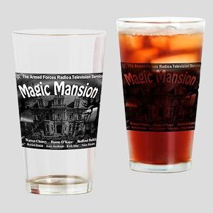 magic mountain Drinking Glass
