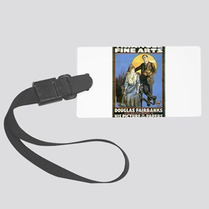 douglas fairbanks Large Luggage Tag