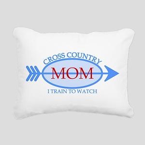 Cross Country Mom Train to Watch Rectangular Canva