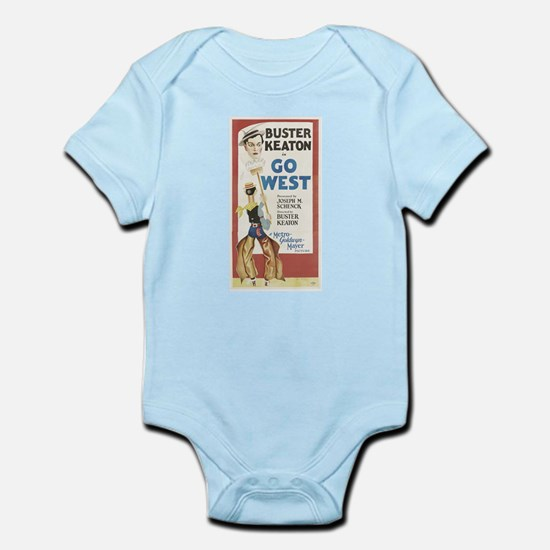 buster keaton Infant Bodysuit