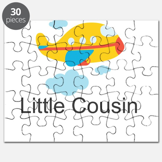 Little Cousin Yellow Airplane Puzzle