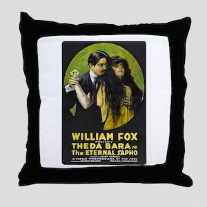 the eternal sapho Throw Pillow