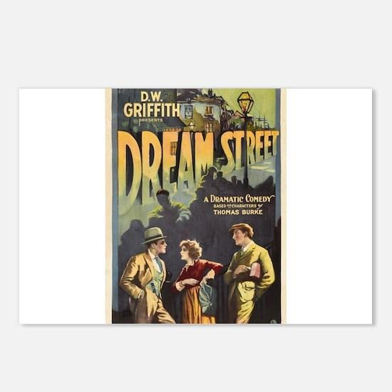 dream street Postcards (Package of 8)