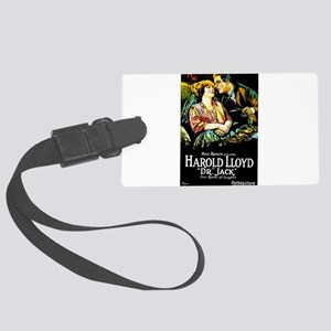 harold lloyd Large Luggage Tag