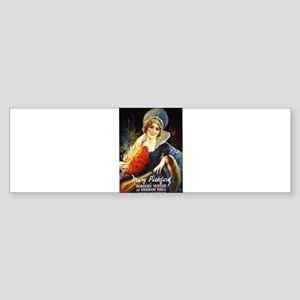 mary pickford Sticker (Bumper)
