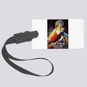 mary pickford Large Luggage Tag