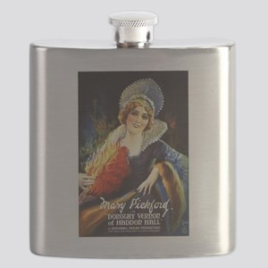 mary pickford Flask