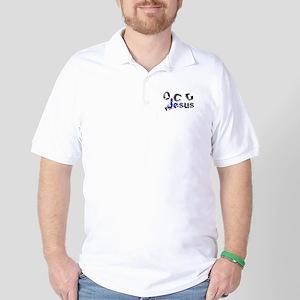 OCD for Jesus blue Golf Shirt