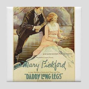 daddy long legs Tile Coaster
