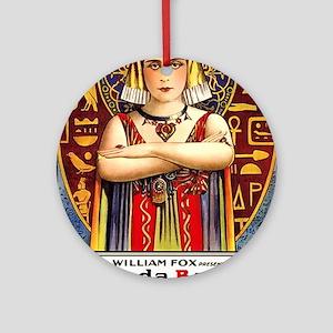 cleopatra Ornament (Round)