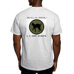Grey 342nd Postal Company Army PT Shirt