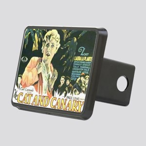the cat and canary Rectangular Hitch Cover