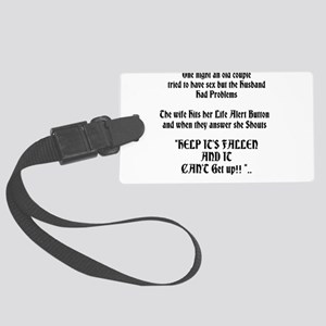 Life Alert Moments Large Luggage Tag