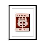 Daggett Route 66 Framed Panel Print