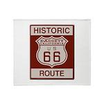 Daggett Route 66 Throw Blanket